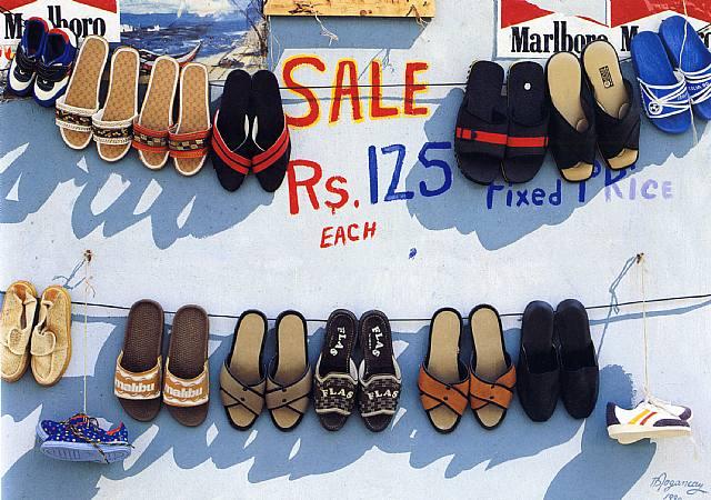 Shoe Sale - Burhan Dogancay