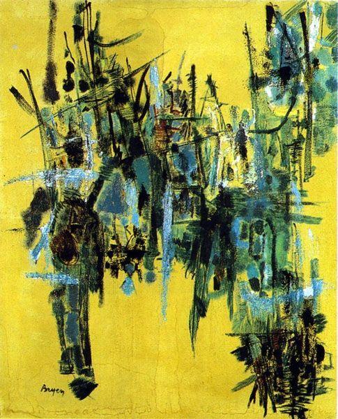 Afocalypse, 1953 - Camille Bryen