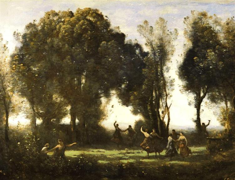 Dance of the Nymphs - Camille Corot