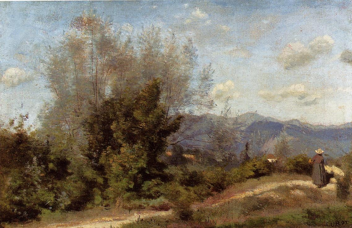 In the vicinity of geneva camille corot for Camille corot