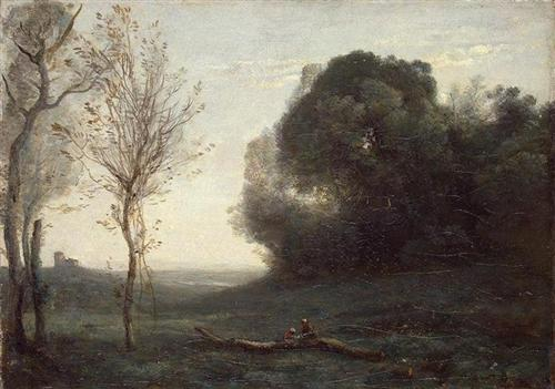 Morning - Camille Corot