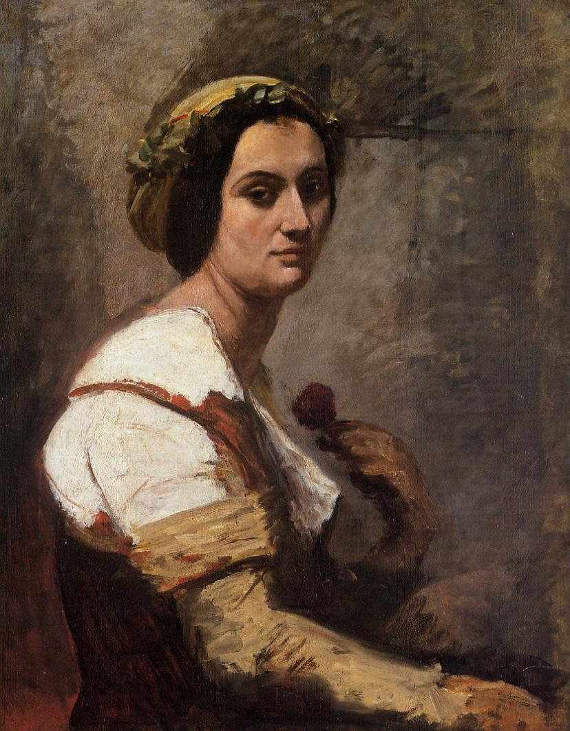 Sibylle camille corot encyclopedia of for Camille corot
