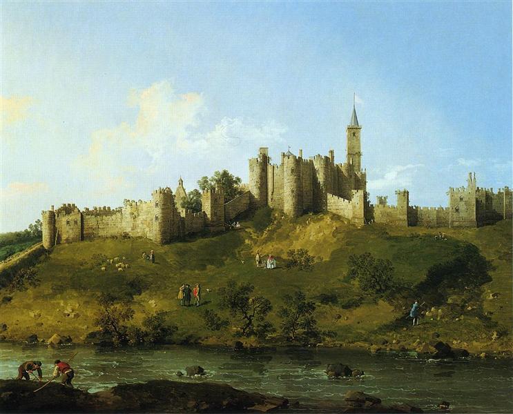 Alnwick Castle, 1747 - Canaletto