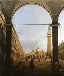 Piazza San Marco, guardando a est - Canaletto