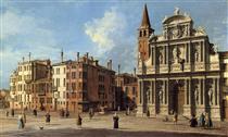Santa Maria Zobenigo - Canaletto