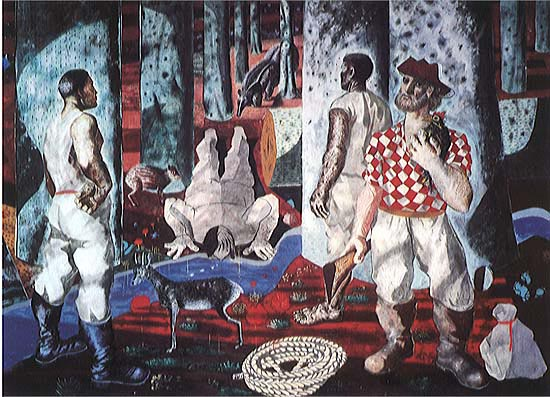Entry into the Forest - Candido Portinari