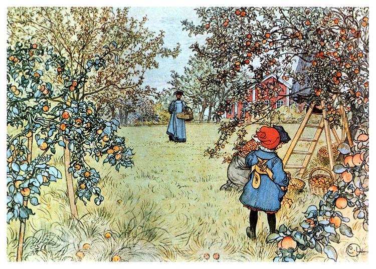 The Apple Harvest, 1903 - Carl Larsson