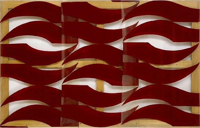 Rosso scuro, 1974 - Carla Accardi