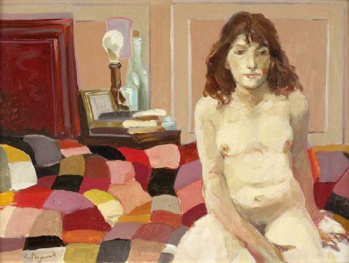 Desnudo - Carlos Alonso