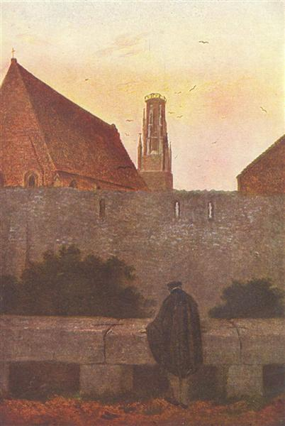 By the townwall, 1800 - Caspar David Friedrich