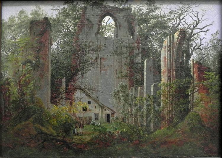Eldena, 1824 - Caspar David Friedrich