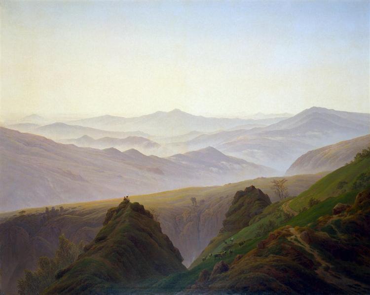 Morning in the Mountains, c.1823 - Caspar David Friedrich