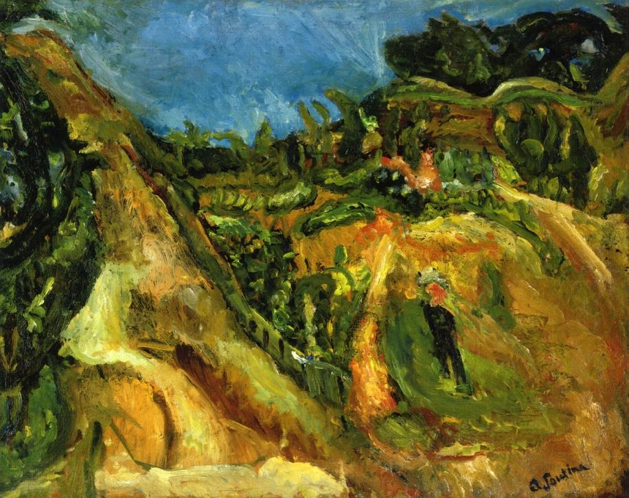 Chaim Soutine - Page 2 Midday-landscape