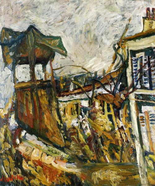 Parisian Suburb, c.1919 - Chaim Soutine