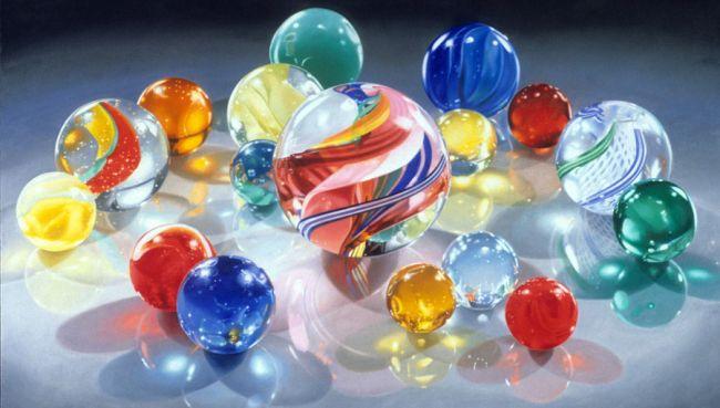 Rainbow Marbles