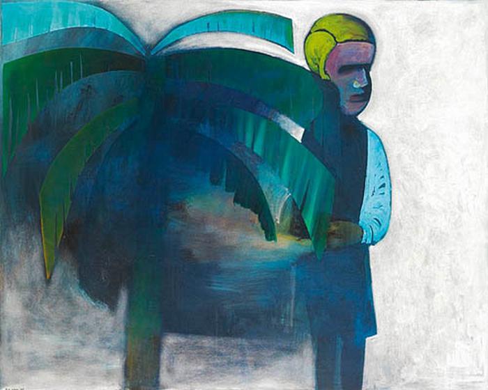 The Palm, 1968 - Charles Blackman