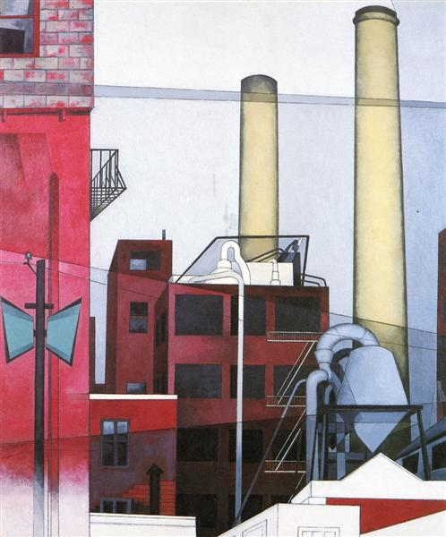 After All - Charles Demuth