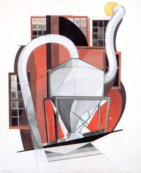 Machinery, 1920 - Charles Demuth