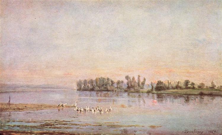 Morning - Charles-Francois Daubigny