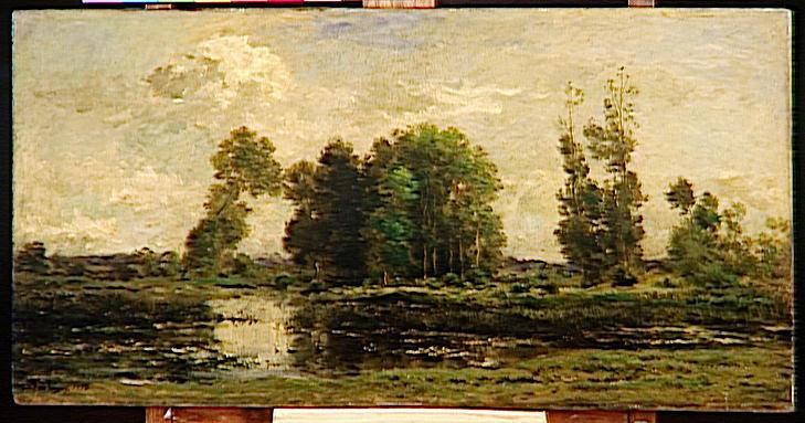 The pond, 1870 - Charles-Francois Daubigny