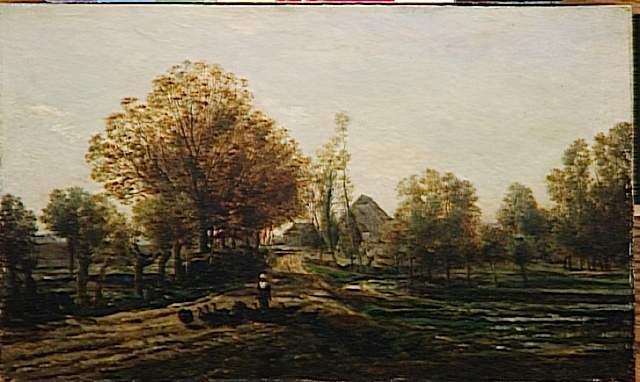 The turkey keeper, 1858 - Charles-Francois Daubigny