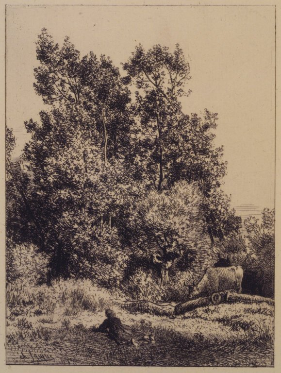 Landscape with Cows, 1864