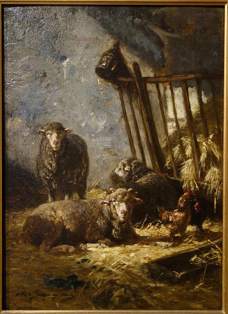 Sheep in Manger