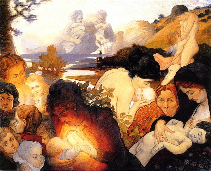 Maternity, 1893 - Charles Maurin