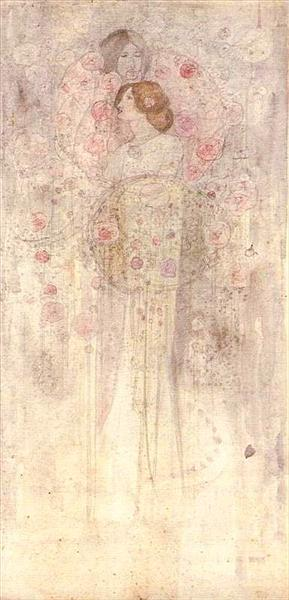 Fairies, 1898 - Charles Rennie Mackintosh