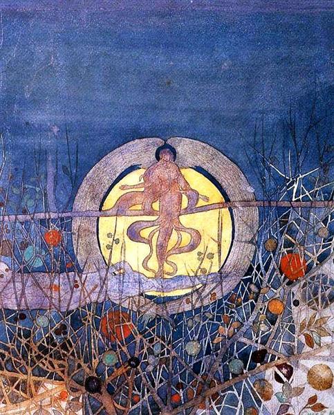 The Harvest Moon, 1892 - Charles Rennie Mackintosh