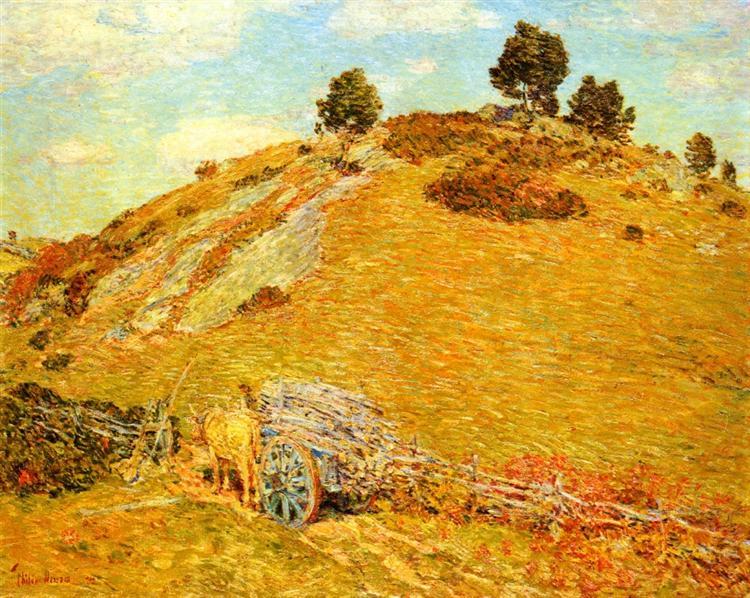 Bornero Hill, Old Lyme, Connecticut, 1904 - Childe Hassam