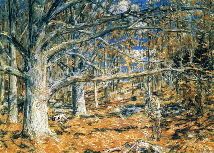 Connecticut Hunting Scene, 1904 - Childe Hassam