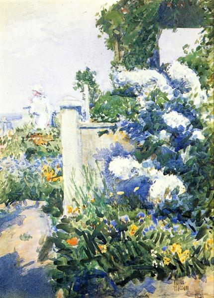 Garden by the Sea, Isles of Shoals, 1892 - Childe Hassam