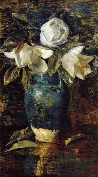 Giant Magnolias, 1904 - Childe Hassam