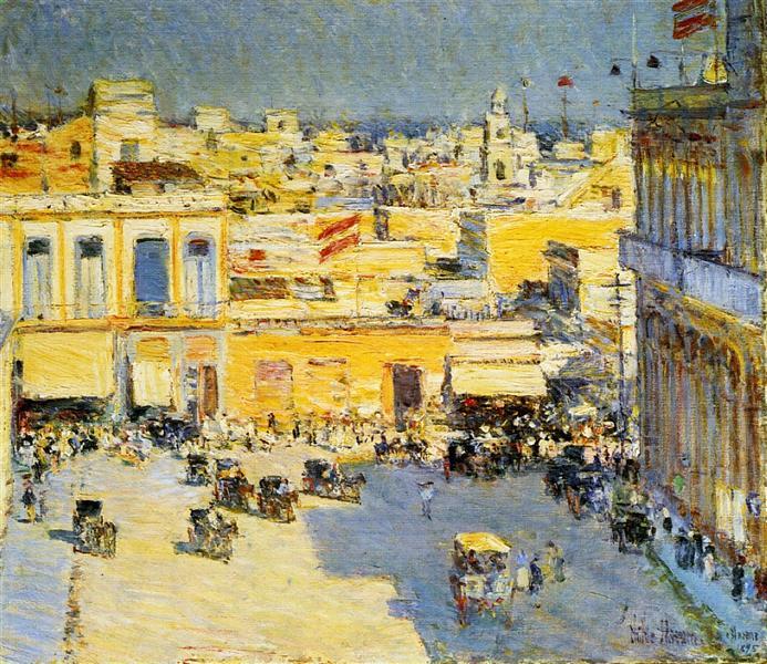 Havana, 1895 - Childe Hassam