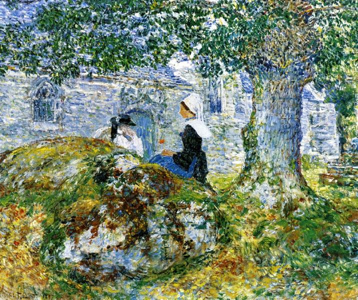 In Brittany Bay, 1887 - Childe Hassam