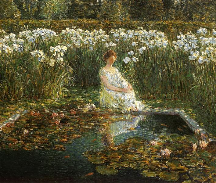 Lilies, 1910 - Childe Hassam