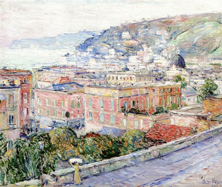 Naples, 1897 - Childe Hassam