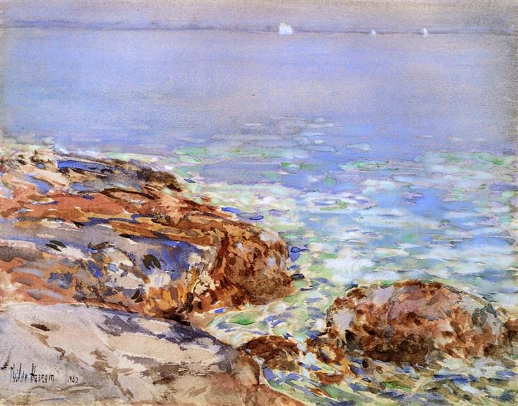 Seascape, Isles of Shoals, 1903 - Childe Hassam