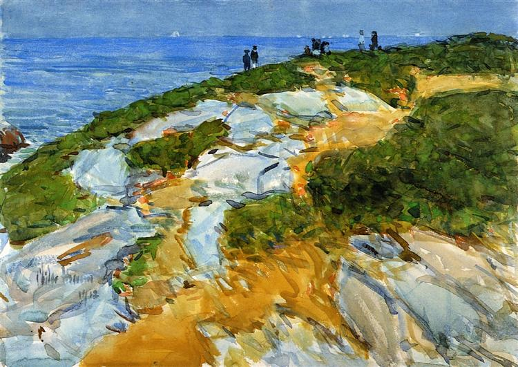 Sunday Morning, Appledore, 1912 - Childe Hassam