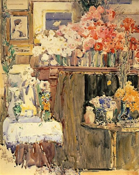 The Altar and the Shrine, 1892 - Childe Hassam