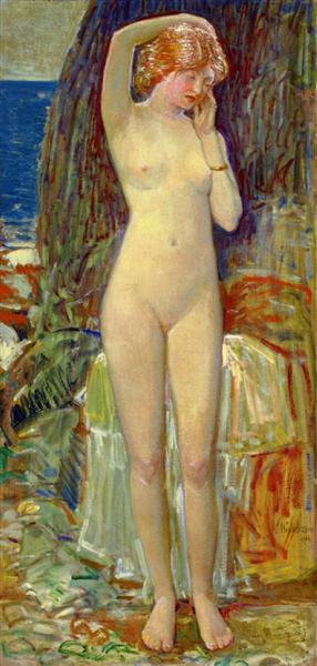 The Nymph of Beryl Gorge, 1914 - Childe Hassam