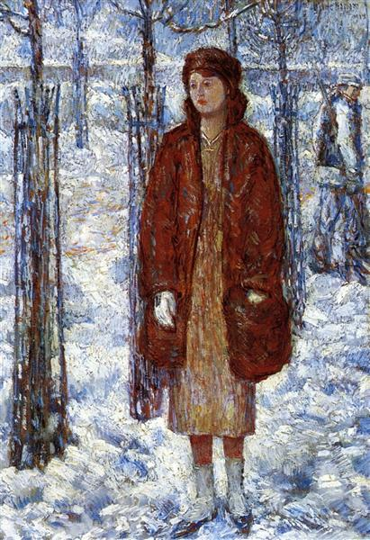 The Snowy Winter of 1918, New York, 1918 - Childe Hassam