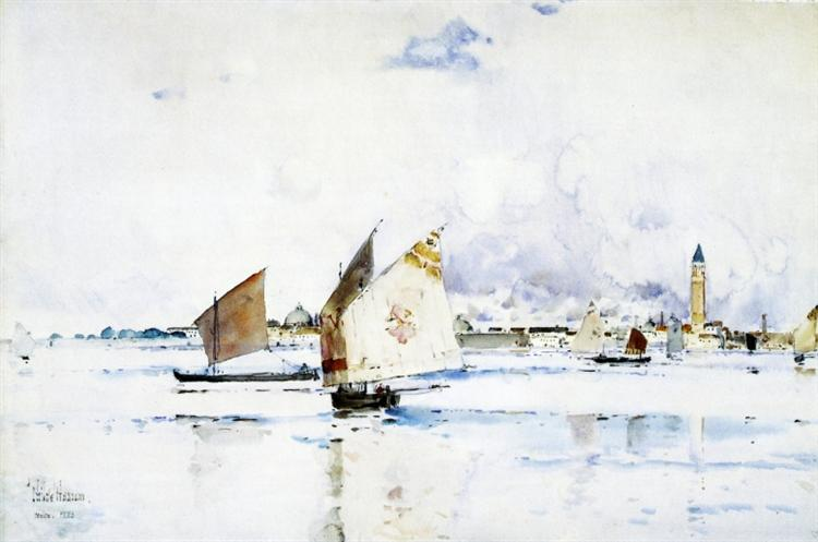 Venice, 1883 - Childe Hassam