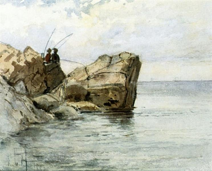 Young Fishermen, 1882 - Childe Hassam