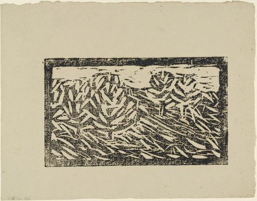 Landscape (Polling), 1911 - Christian Rohlfs
