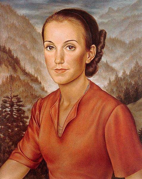 Isabella, 1934 - Christian Schad