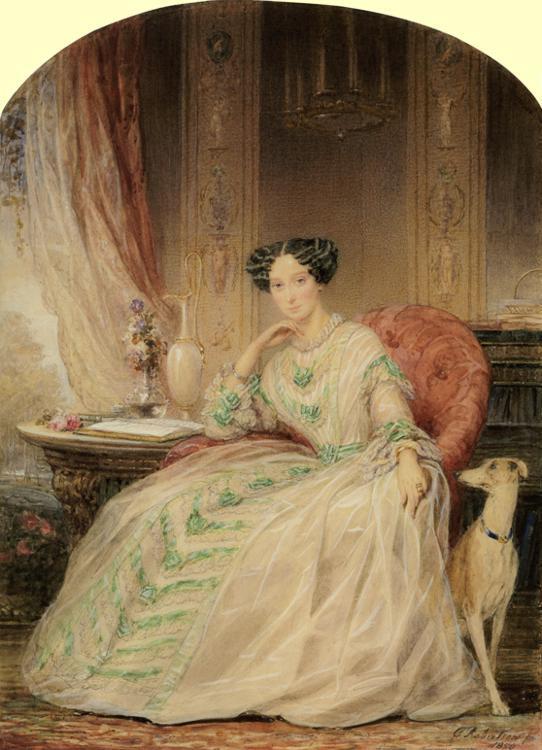 Grand Duchess Maria Alexandrovna, 1850