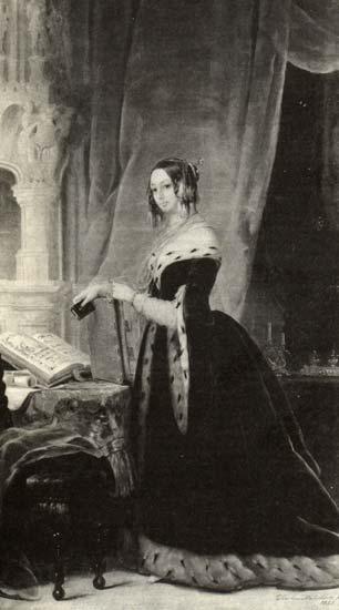 Olga Ivanovna Orlova-Davydova (Baryatinsky), 1841