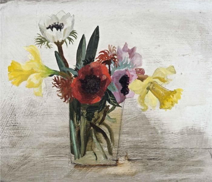 Flowers, 1930 - Christopher Wood